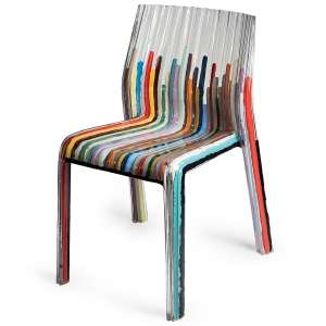 Kartell Frilly Colored Lines©