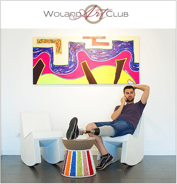 Retrospettiva di Luca Moretto al Woland Art Club di Portopiccolo. Foto di Mirco Basso.